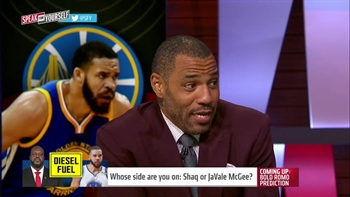 Kenyon Martin reacts to the Shaq vs JaVale McGee feud | SPEAK FOR YOURSELF