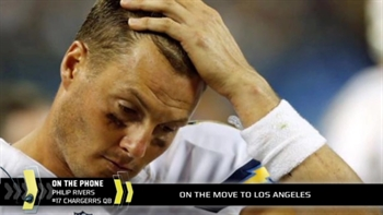 Philip Rivers gets emotional about Chargers' move to LA