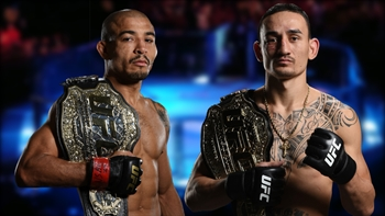 Max Holloway takes funny shot at Jose Aldo as they prep for UFC 212