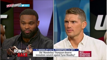 Woodley and Thompson first thoughts on rematch at UFC 209 | SPEAK FOR YOURSELF