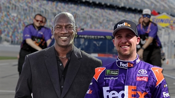 Denny Hamlin knows the moment he became friends with MJ