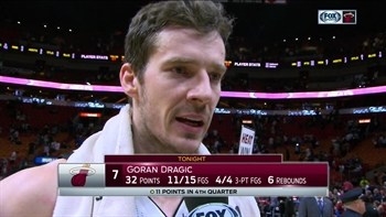 Goran Dragic says communication played a key role in win