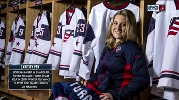 Lyndsey Fry make her mark on Arizona hockey