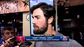 Cole Hamels on start, Rangers win over Twins