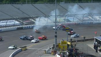 Big Crash in Final Laps at Richmond | 2017 XFINITY SERIES | FOX NASCAR