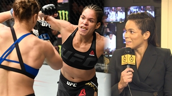 Amanda Nunes loves watching her KO victory over Ronda Rousey