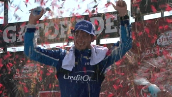 Kyle Larson Wins in Overtime | 2017 XFINITY SERIES | FOX NASCAR