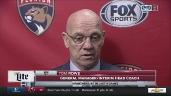 Tom Rowe: I couldn't be more proud of these players