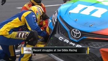 Recent Struggles at Joe Gibbs Racing | NASCAR RACE HUB