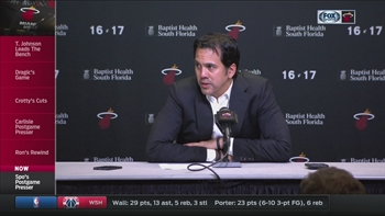 Erik Spoelstra on Goran Dragic: 'When we lose, he doesn't sleep'