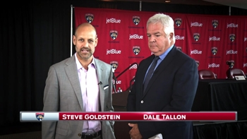 One on one with Florida Panthers GM Dale Tallon