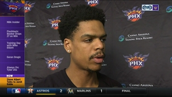 Jarell Eddie learning on the fly with Suns