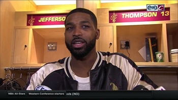Is Tristan Thompson's streak in jeopardy after finger dislocation?