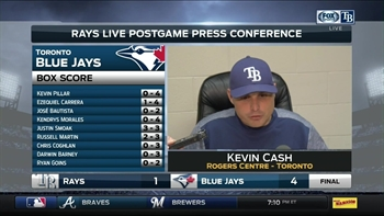 Kevin Cash: We have a couple guys who are pressing