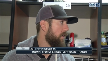 Steven Souza Jr. says X-rays were negative on his hand