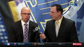 Mike Yeo: 'I'm still shaking' after Blues' Game 5 win