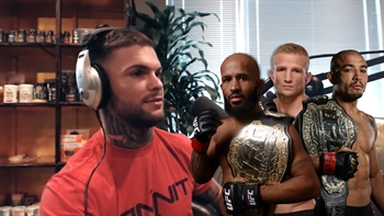 Cody Garbrant has is eyes on three UFC belts