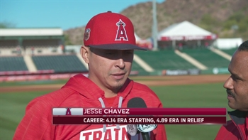 Spring Training Minute: Pitcher Jesse Chavez