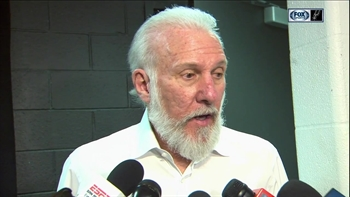 Gregg Popovich on Murray, Gasol in win over Nuggets