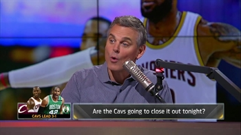 Colin explains why Lakers fans should have interest in the Cavs-Celtics series | THE HERD