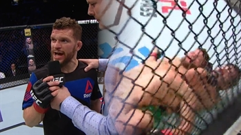 Dustin Ortiz handled his loss to Brandon Moreno with class