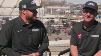 Clint Bowyer's Close Friendship with His Spotter I NASCAR RACEDAY