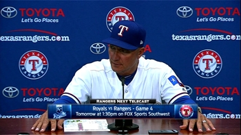 Banister on Martinez: 'As good as I've seen him pitch'
