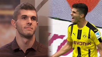 Christian Pulisic signs contract extension at Borussia Dortmund.
