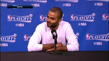 Tony Parker: 'We played well enough to win the game'