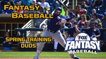 5 Spring Training Duds: Fantasy Baseball