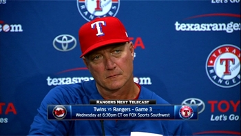 Jeff Banister on changing the lineup until something clicks