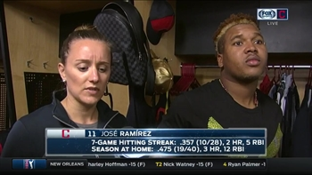 Jose Ramirez lives for the clutch situations