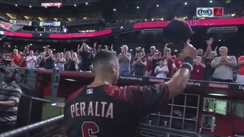 David Peralta on D-backs big win over Dodgers