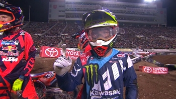 McElrath Wins 250 Main as Hill Clinches West Title at Salt Lake City | 2017 MONSTER ENERGY SUPERCROSS