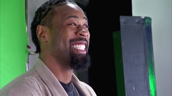 DeAndre Jordan's media circuit at NBA All-Star Game in New Orleans
