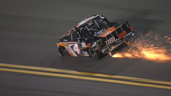 Korbin Forrister & Christopher Bell Wreck at Daytona | 2017 NASCAR TRUCKS | NASCAR ON FOX