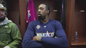 Behind-the-scenes with DeAndre Jordan at Dunk Contest