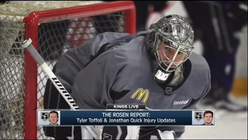 Kings Live: Toffoli, Quick expected back on the ice soon
