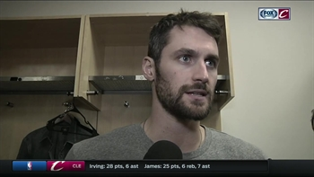 Kevin Love pinpoints what Cavs need to do to be a great team