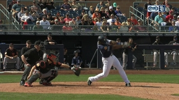 Padres Highlight: Jabari Blash connects for a 3-run home run