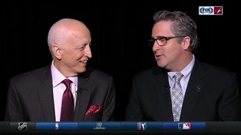 Dave Strader continues to fight, returns to broadcast booth