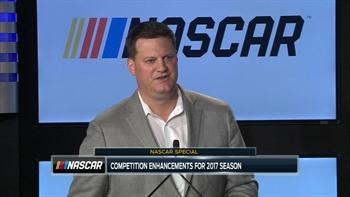 NASCAR Announces 2017 Competition Enhancements