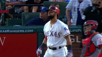 Roughned Odor crushes two-run home run off right field foul pole