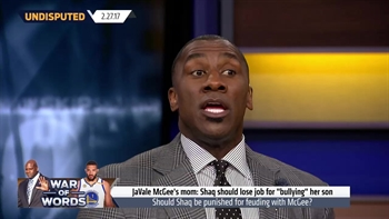 Shannon Sharpe reacts to the JaVale McGee vs Shaq war of words | UNDISPUTED