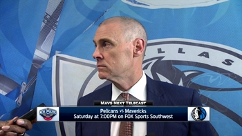 Rick Carlisle on 97-84 loss to Timberwolves