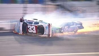 Justin Fontaine Rolls Over in Hard Crash at Daytona I 2017 ARCA RACING SERIES