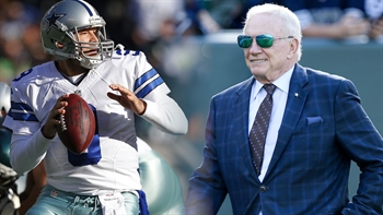 Cowboys owner Jerry Jones talks about the future of Tony Romo