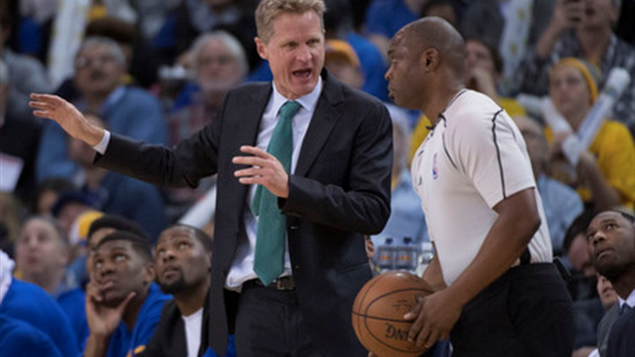 Steve Kerr reveals his pick to win NBA's Coach of the Year