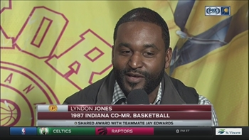 Lyndon Jones relives his career at Marion