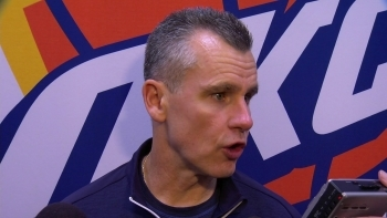 Billy Donovan talks good team win over Hawks